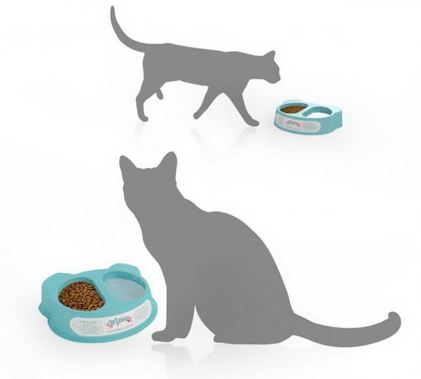 A' design macska kaja csomagolás