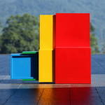 A' design multifunkciós színes szék