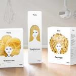 A' design száraz tészta csomagolás