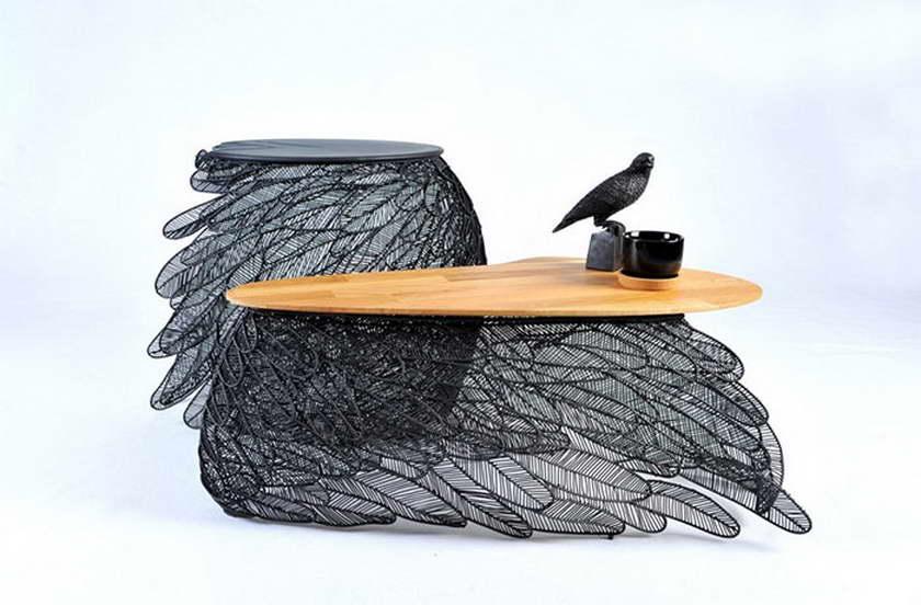 A' design szárny asztal