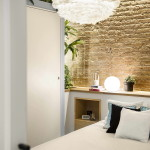 tengerparti nyaraló - városi kis lakás - társalgó és nappali