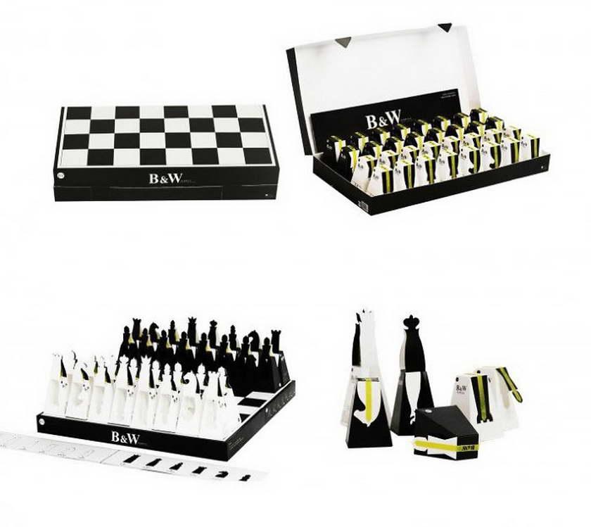 A' design whyskey - sakk csokoládé csomagolás