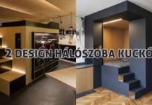 2 design hálószoba, dizájn kocka