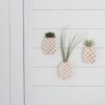 fali ananász virág dekoráció