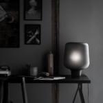 asztali fekete design lámpa