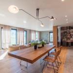 díjnyertes lakás - konyha nappali