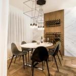 díjnyertes lakás - fehér konyha