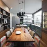 díjnyertes lakás kortárás és modern design - konyha