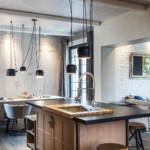 díjnyertes lakás modern klasszikus konyha