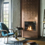 díjnyertes lakás modern klasszikus kandalló