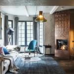 díjnyertes lakás modern klasszikus nappali