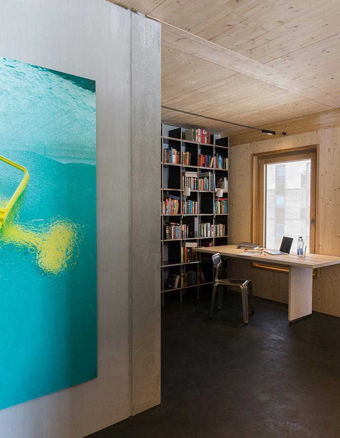 2 design hálószoba, dizájn kocka - térrendezés - közlekedő és dolgozó szoba