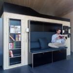 2 design hálószoba, dizájn kocka - gardrób és kanapé