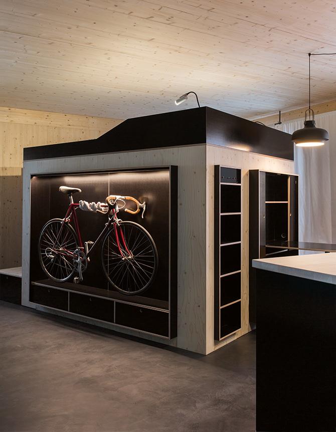 2 design hálószoba, dizájn kocka - tárolók előszoba és rejtett világítás