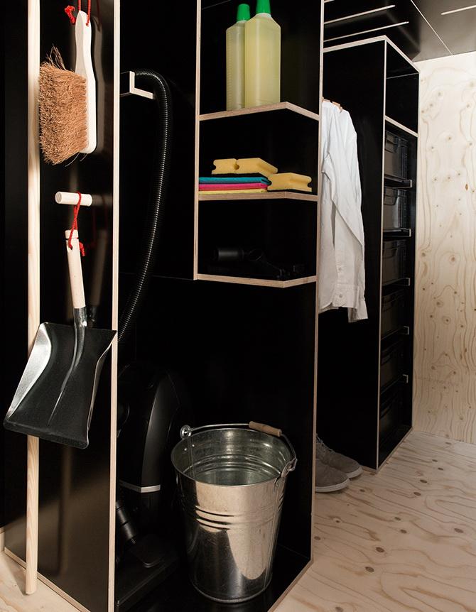 2 design hálószoba, dizájn kocka - tároló helyiség