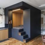 design hálószoba, dizájn kocka