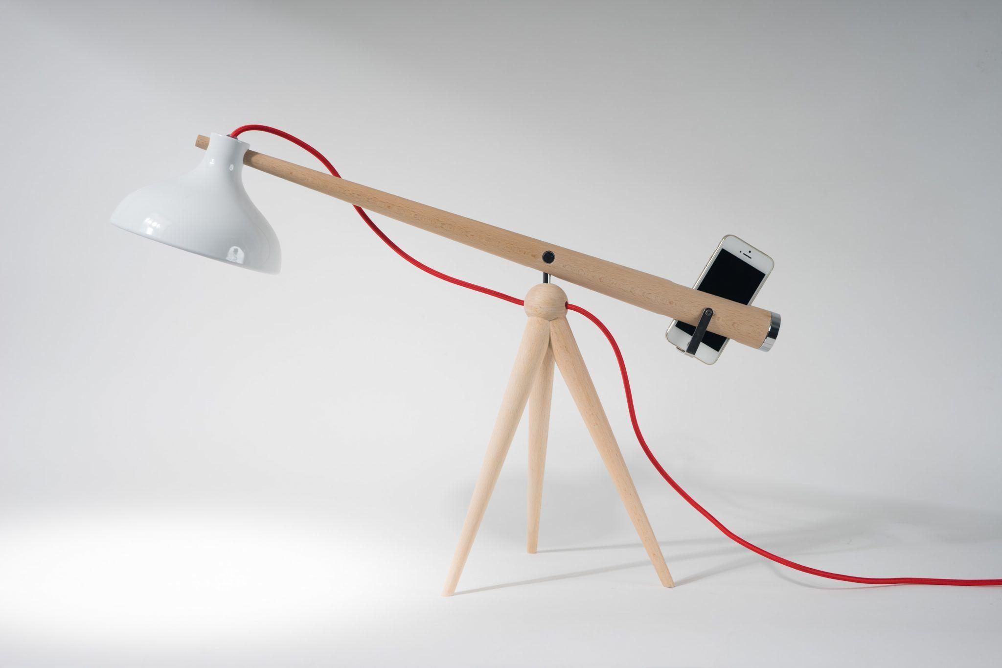 asztali minimál design lámpa