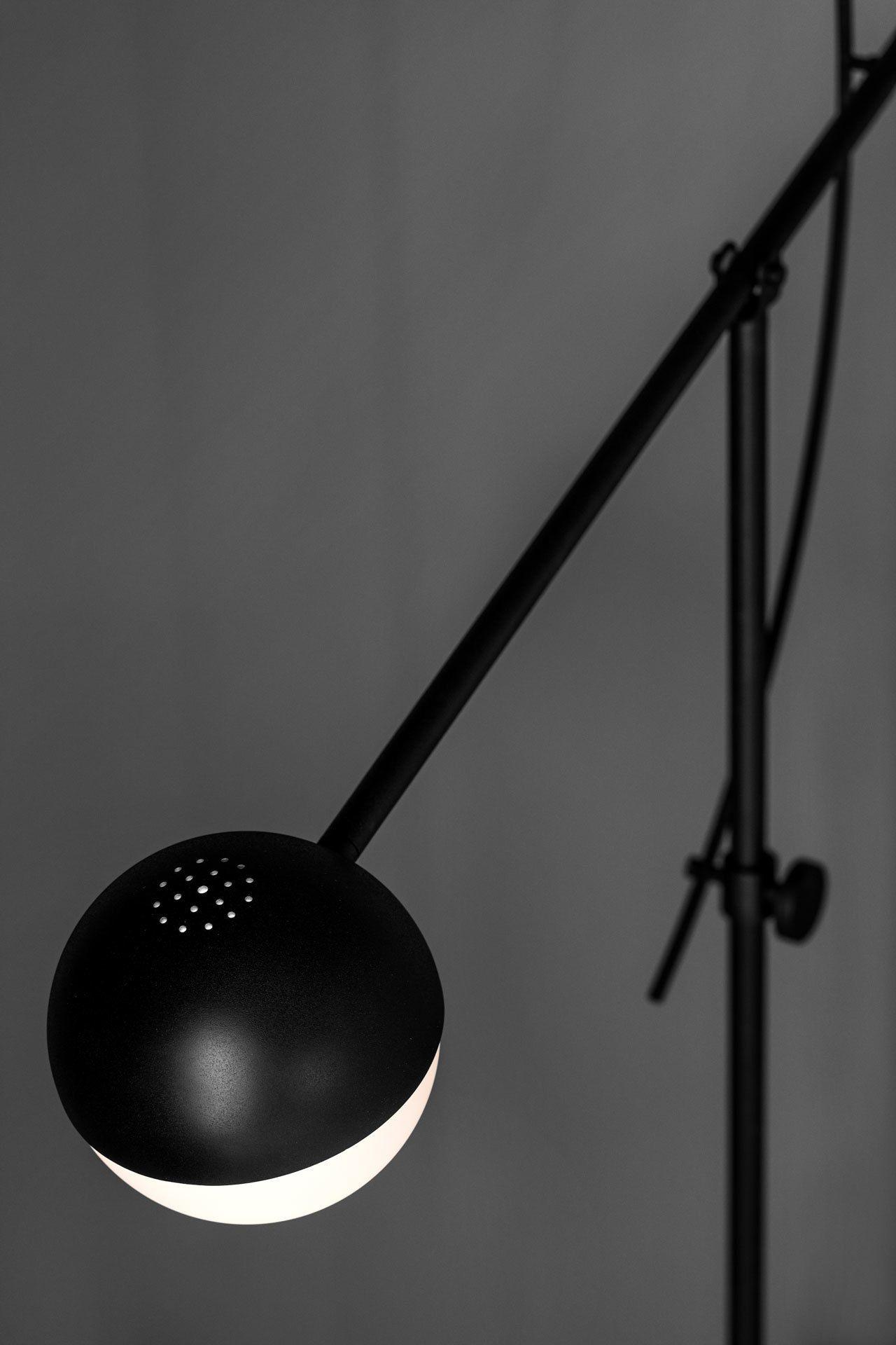 fekete design állólámpa