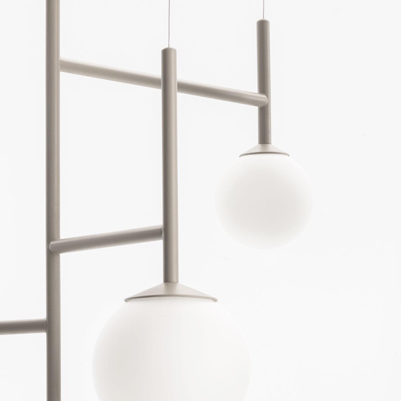 design lámpa gömb arany fém króm