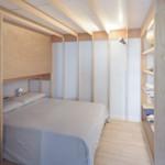dupla hálószoba kis lakás - hálószoba