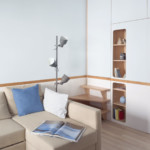 dupla hálószoba kis lakás nappali