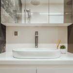 elegáns modern lakás fürdőszoba