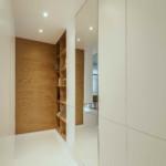 elegáns modern lakás bejárat