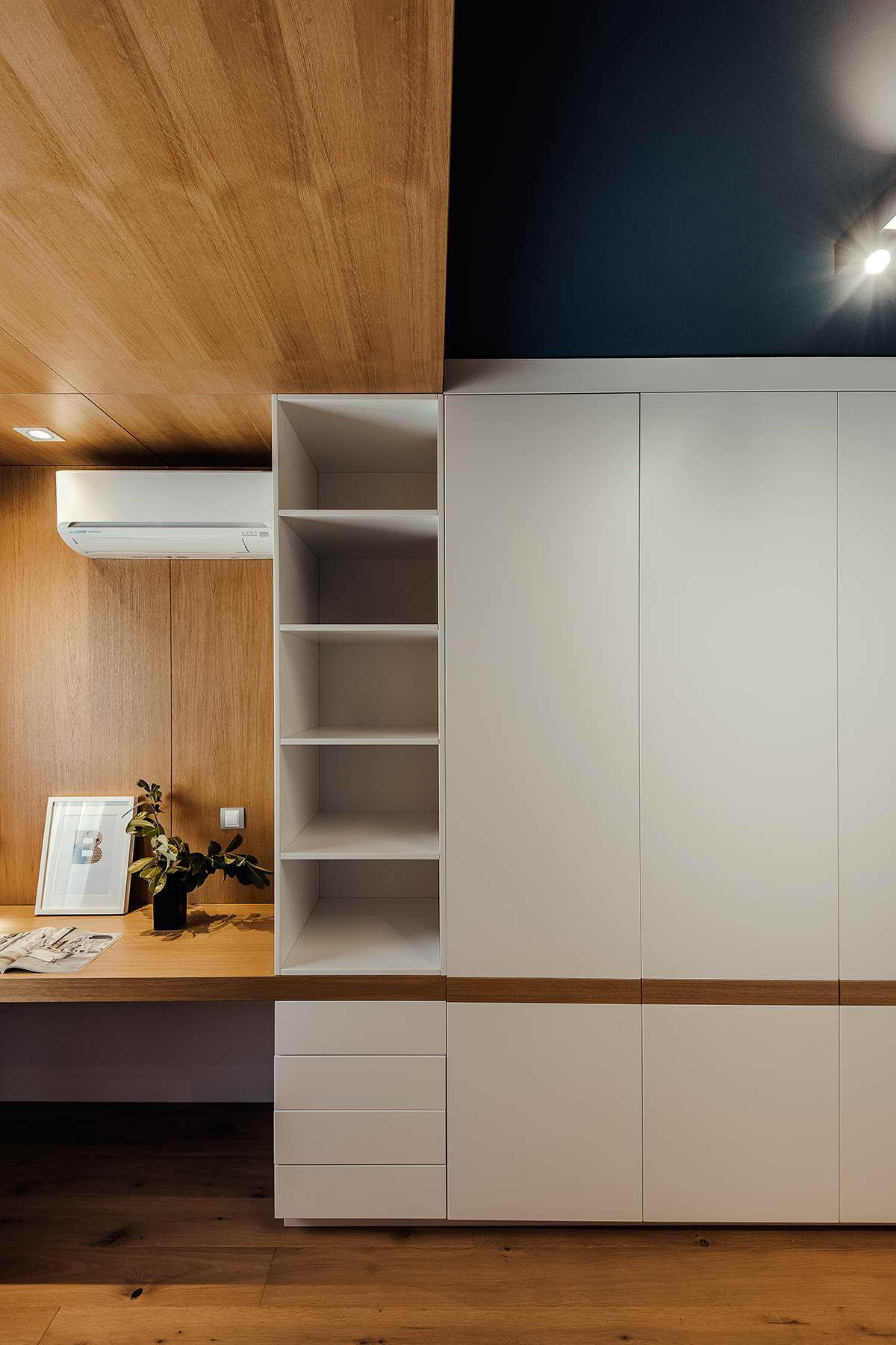 elegáns modern lakás vendég gyerek szoba