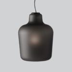 üveg függő design csillár lámpa