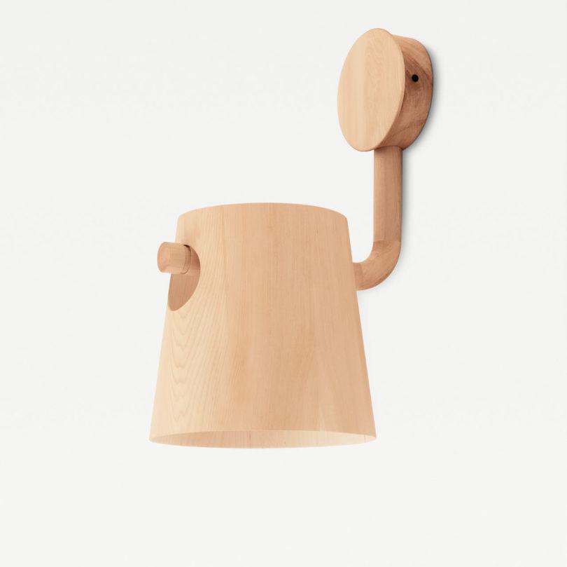 fa design lámpa