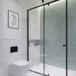 hálószoba a nappaliban fürdőszoba