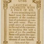 házi praktika- hogy gyújts cigarettát jéggel