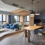 játékos és színes lakás