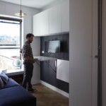kis lakás rengeteg ötletes megoldás