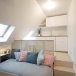 kis lakás teljes tetőtér beépítés