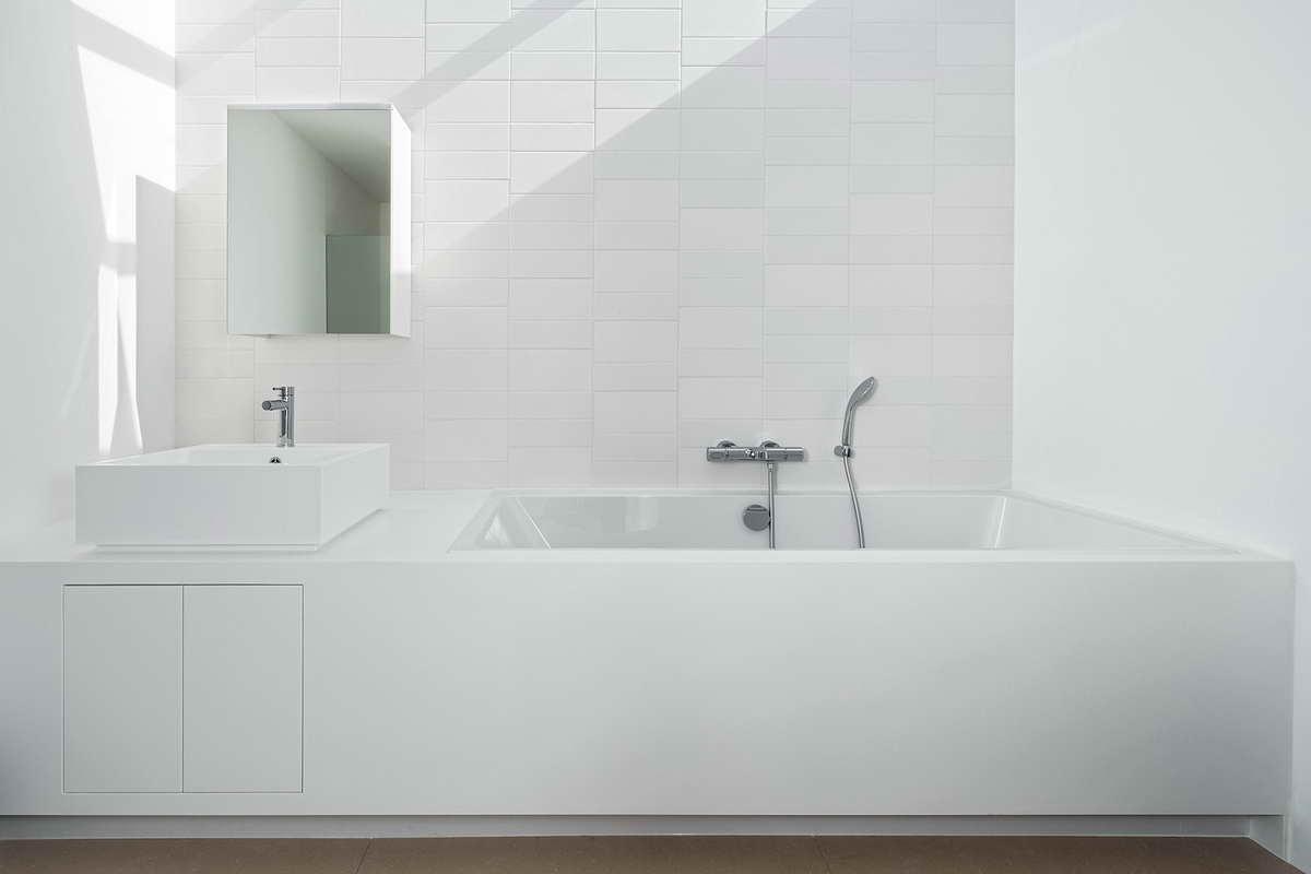 minimál design különböző stílus - fürdőszoba