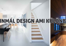 minimál design stílus