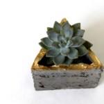 moduláris beton virág tartó