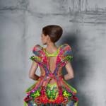 high tech ruha Swarovski kristályokból