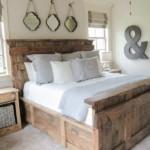 ágy készítés DIY kreatív - nagyméretű királyi ágy