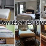 ágy készítés DIY kreatív