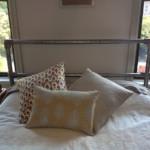 ágy készítés DIY kreatív - vízcső vas ágy