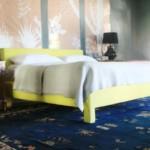 ágy készítés DIY kreatív - modern kárpitozott bútor ágy