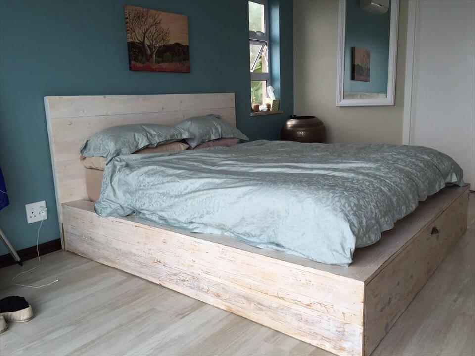 ágy készítés DIY kreatív -deszka