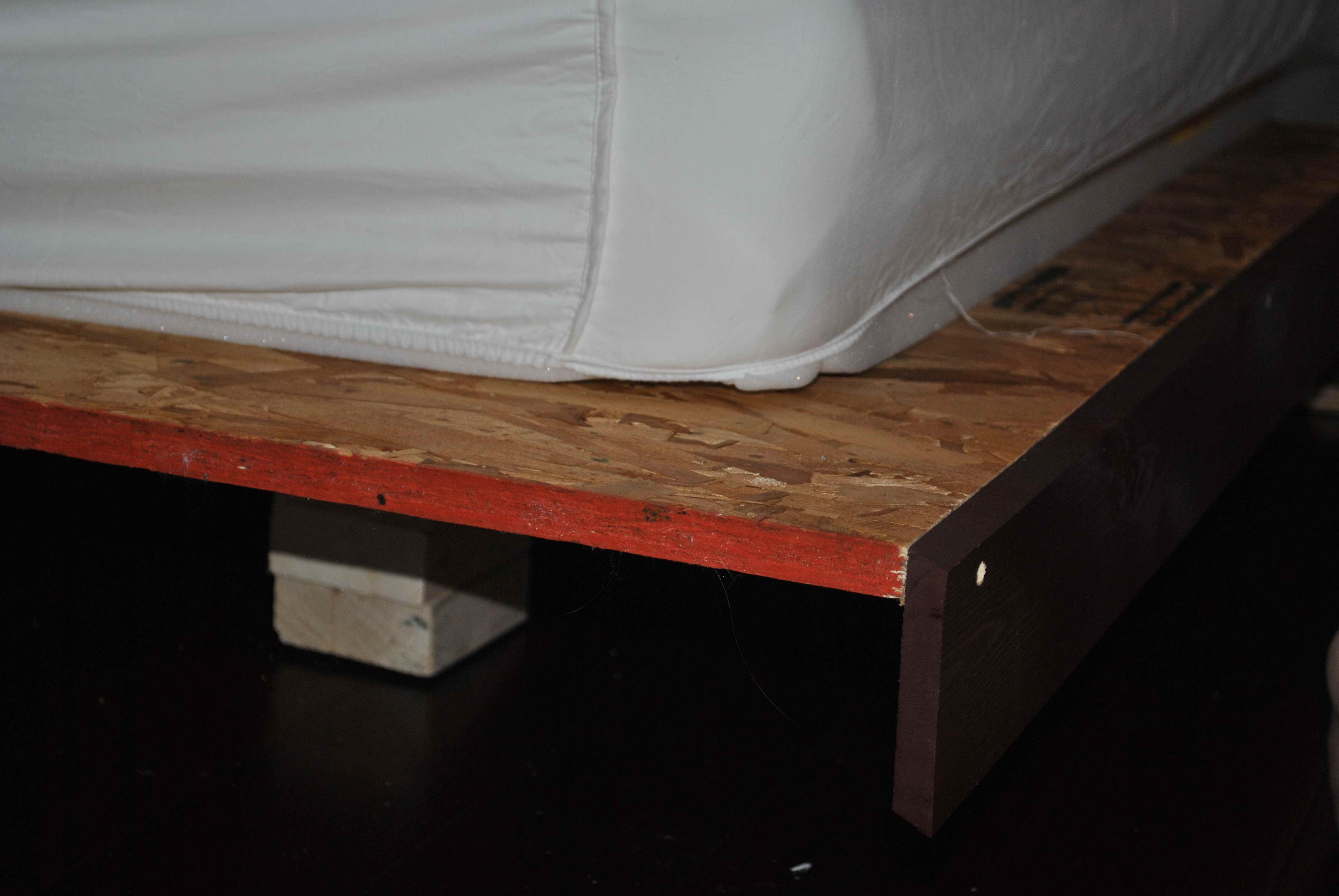 ágy készítés DIY kreatív - lebegő ágy