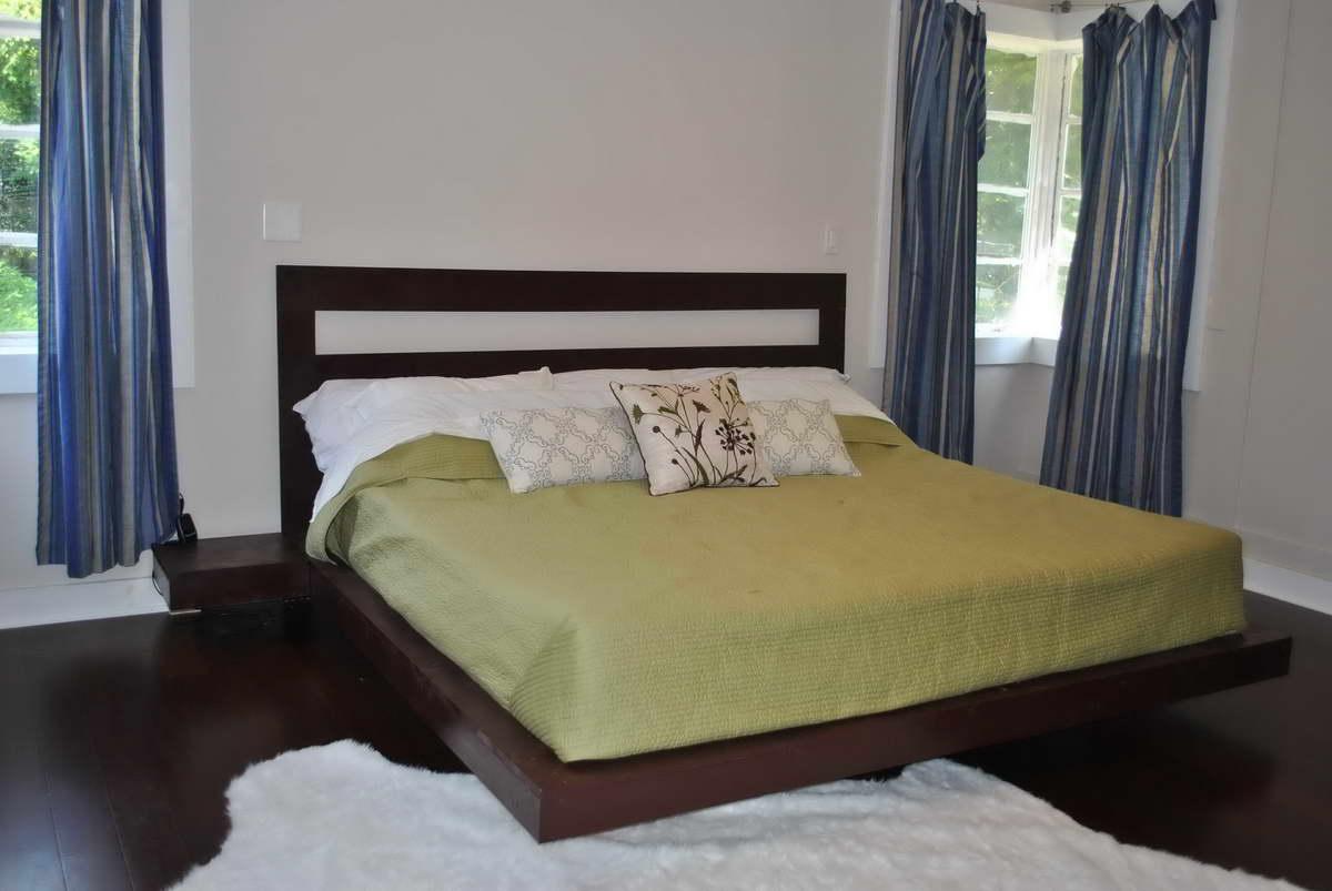 ágy készítés DIY kreatív -lebegő ágy