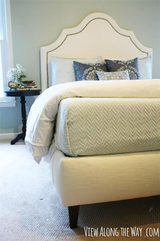 ágy készítés DIY kreatív - kárpitozott