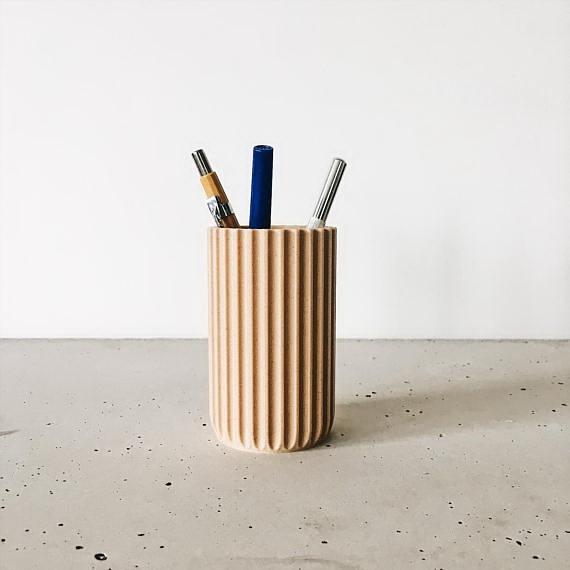 design virágcserép 3d nyomtatás - váza tolltartó