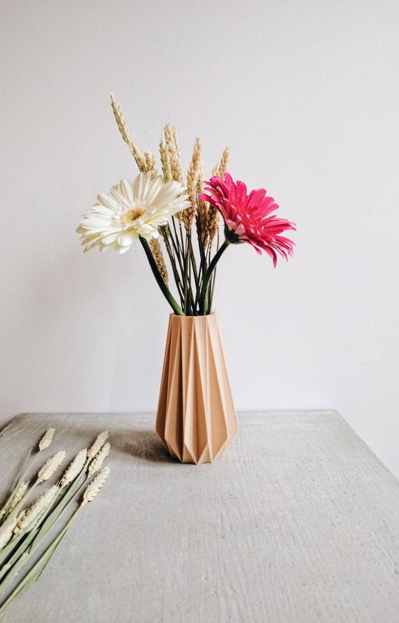 design virágcserép 3d nyomtatás - váza