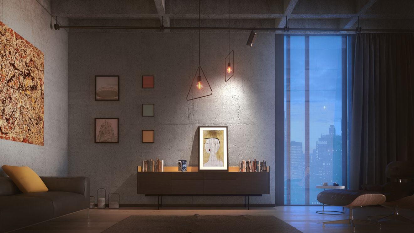 digitális képkeret - nappali